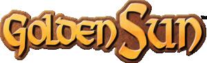 Logo for the Golden Sun series.