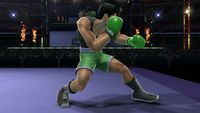 Little Mac's first idle pose in Super Smash Bros. for Wii U.