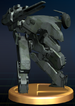 Metal Gear REX trophy from Super Smash Bros. Brawl.