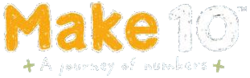 Logo for Make 10: A Journey of Numbers.