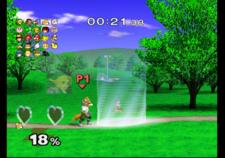 All-Star Rest Area in Super Smash Bros. Melee.