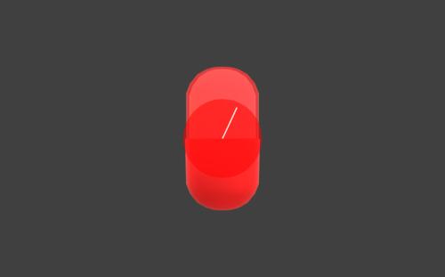 Hitbox visualization for Dr. Mario's Megavitamins
