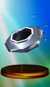 Cloaking Device trophy from Super Smash Bros. Melee.