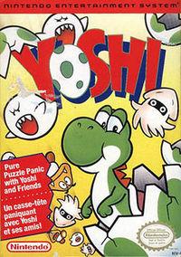 Box art of the NES version of Yoshi.