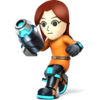 Source: Spriters Resource. Mii Gunner it appears in Super Smash Bros. 4.