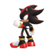 Render of Shadow the Hedgehog from the Smash Ultimate Website