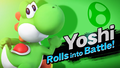 Yoshi Rolls into Battle.png