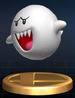 Boo trophy from Super Smash Bros. Brawl.