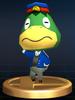 Kapp'n trophy from Super Smash Bros. Brawl.