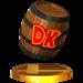 Trophy of a DK Barrel in Super Smash Bros. for Nintendo 3DS