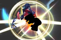 Shadow Strike in Super Smash Bros. for Wii U.