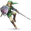 Link as he appears in Super Smash Bros. 4.