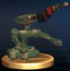 R.O.B. Launcher trophy from Super Smash Bros. Brawl.