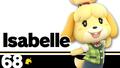 SSBU Isabelle Number.png