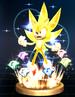 Super Sonic trophy from Super Smash Bros. Brawl.
