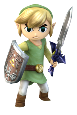 Render used for Project Plus Toon Link.