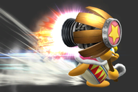 Dash Jet Hammer in Super Smash Bros. for Wii U.