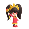 Render of Ashley from the Smash Ultimate Website