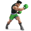 Little Mac as he appears in Super Smash Bros. 4.