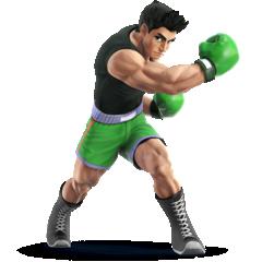 Little Mac as he appears in Super Smash Bros. 4.