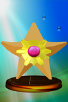 Staryu trophy from Super Smash Bros. Melee.