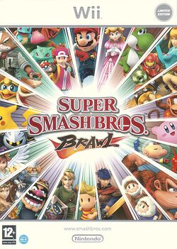 Packaging of the Limited Edition of Super Smash Bros. Brawl.