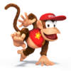 Diddy Kong as he appears in Super Smash Bros. 4.