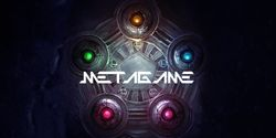 Logo for the Metagame documentary.