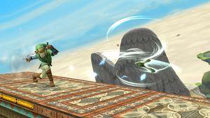 Gale Boomerang in Super Smash Bros. for Wii U.