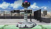 R.O.B.'s first idle pose in Super Smash Bros. for Wii U.