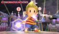 Lucas Congratulations Screen All-Star Brawl.png