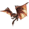 Official render of Rathalos, white background removed by uploader.