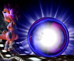 Mewtwo releases shadow ball