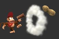 Jumbo Peanuts in Super Smash Bros. for Wii U.