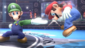 Luigi Forward smash SSB4.png