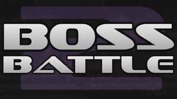 Logo for the Boss Battle 2 tournament.