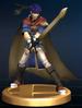 Ike trophy from Super Smash Bros. Brawl.