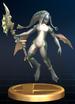 Zora trophy from Super Smash Bros. Brawl.