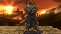 Ganondorf's second idle pose in Super Smash Bros. for Wii U.