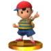 Ness's Main Trophy in Smash 3DS.