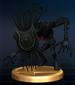 Shadow Beast trophy from Super Smash Bros. Brawl.