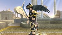 Dark Pit's second idle pose in Super Smash Bros. for Wii U.