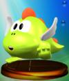 Tamagon trophy from Super Smash Bros. Melee.