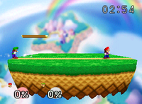 The Tutorial Stage of Super Smash Bros.