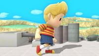Lucas's first idle pose in Super Smash Bros. for Wii U.
