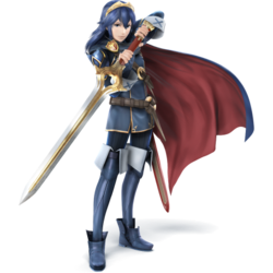 Lucina as she appears in Super Smash Bros. 4.