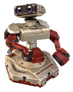 Render used for Project Plus R.O.B.