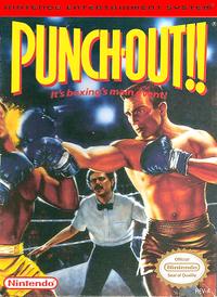 Punch-Out!!'s original box artwork.