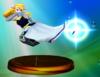 Princess Zelda trophy from Super Smash Bros. Melee.