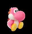 Pink Yoshi amiibo (Yoshi's Woolly World series).png